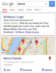 Google Testing New Mobile Search Results With Logo Centered At Top