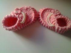 zapatitos (patucos) de bebe a crochet parte 1  10000 gracias !