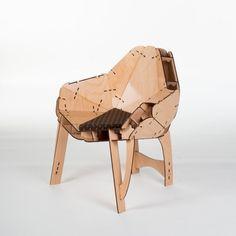 Armchair 01 + Stool 01 / Adorjan Portik | AA13 – blog – Inspiration – Design – Architecture – Photographie – Art