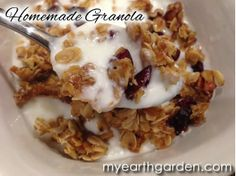 How to Make Homemade Granola | Michael Nolan's My Earth Garden