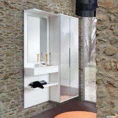 mobile da ingresso con specchio scorrevole welcome - arredaclick ... - Mobile Ingresso Noon