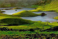 Lagoa do Caldeirão , Caldeirão do Corvo, Vila do Corvo, Corvo, Azores, Portugal   Açores - I Love Azores