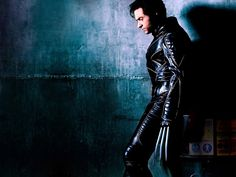 Black Leather Catsuit worn By Hugh Jackman in X-Men as Wolverine. Buy your Catsuit for dance from DCUK Dance Clothes.