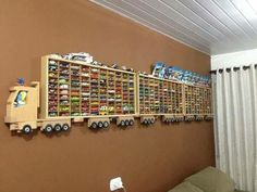 Love This for toy cars storage!