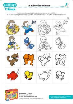 T 39 choupi aime maman coloring pages pinterest - Tchoupi a l ecole ...