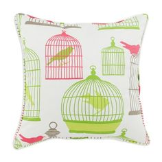 I pinned this Flight of Fancy Corded Square Pillow from the Chooty & Co event at Joss and Main!