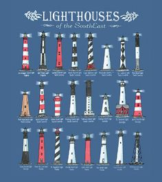 lighthouses graphic - Google Search