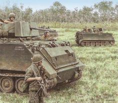 M113 armored personnel carriers, Vietnam
