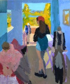 Painter whose art found its fullest expression after he became blind--Sargy Mann