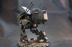 Dust Tactics miniature from Nightfall blog