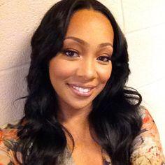 Monica Brown Hairstyles Braids