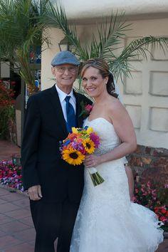 "The Bride and her father. Repin if you ""Like""! Click www.rksshots.com #RksPhotography #SanDiegoPhotography #BahiaResortHotel #Wedding #ChristaAndJoe"