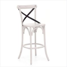 www.matthewizzo.com Zuo Era Union Square Bar Chair in White
