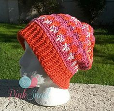 The Tutti Fruit Adult Hat pattern is my eleventh pattern and uses the same stitch pattern as my popular Dasher Christmas Stocking. I hope you all enjoy it. The color combinations are endless. Would also look great as a solid. Perfect for both men and women.