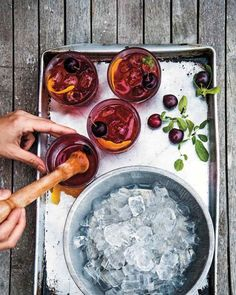Plum Negroni | 31 Delicious Things You Need To Cook In August
