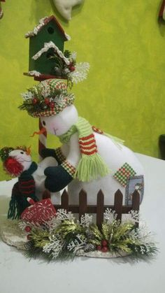 Lorena lopez salamanca Cute Christmas Ideas, Christmas 2016, Christmas Snowman, Handmade Christmas, Christmas Wreaths, Christmas Crafts, Christmas Decorations, Xmas, Christmas Ornaments