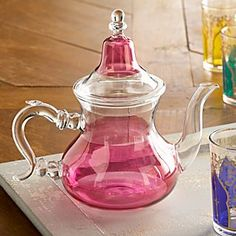 Moroccan Medina Glass Teapot