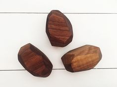 Wooden Geode Rattle