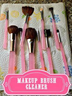 Rose & Co Blog: Worlds best & easiest Makeup Brush Cleaner