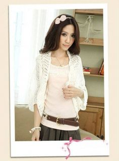 Loose Hollow Out Dolman Sleeve Women's Cardigan Poncho on BuyTrends.com, only price $12.63