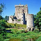 Blarney Castle, Ireland. Everyone must kiss the Blarney stone. Nothing like hanging upside down six stories up with two Irishmen holding you by your ankles to kiss an ancient stone!