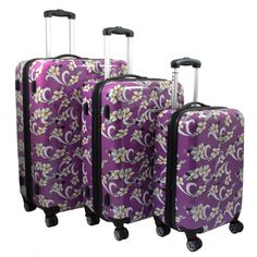 HAUPTSTADTKOFFER Luggages Sets Glossy Suitcase Sets Hardside ...