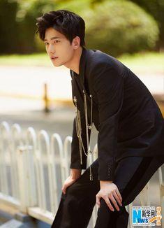 Chinese actor Yang Yang  http://www.chinaentertainmentnews.com/2016/08/actor-yang-yang-poses-for-fashion-shots.html