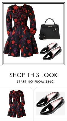 """Untitled #1"" by dzemila-c ❤ liked on Polyvore featuring Christian Lacroix and Hermès"
