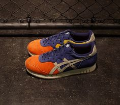 408e9e3082a682 mita Sneakers x Onitsuka Tiger X-Caliber – Orange   Navy – White