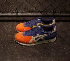 mita Sneakers x Onitsuka Tiger X-Caliber – Orange / Navy – White