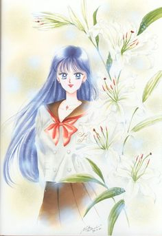 火野レイ / セーラーマーズ Rei Hino / Sailor Mars : 美少女戦士セーラームーン原画集 Bishoujo Senshi Sailor Moon Original Picture Collection Vol.2 by Naoko Takeuchi