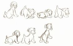 46 best ideas for dogs drawing sketches character design Cartoon Sketches, Disney Sketches, Animal Sketches, Animal Drawings, Character Design Cartoon, Character Design References, Character Drawing, Comic Character, Manga Drawing