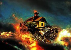 TaxusArt: Dom latających maszyn Moja ostatnia grafika