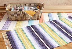 Scandanavian Flat-Weave Rugs