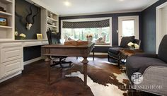 Kling Masculine Home Office After