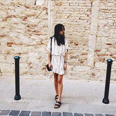 @andicsinger wears the castaway shirt dress ⚡️#faithfullthebrand #sunseasalt
