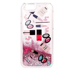<P>All that glitters, smells good and makes you look good. Clear snap on case is decorated in beauty essentials. Sparkling pink glitter and iridescent hearts create a mesmerizing swirl as your phone moves around.</P><UL><LI>Currently only available to fit iPhone® 6/6S<LI>Soft touch<LI>Apple Inc. is not responsible for this product. iPhone® is a registered trademark of Apple Inc.<&#47...