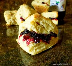 Nel's Nook: Copycat Fisher Scones - A Puyallup Fair Speciality