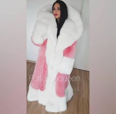 Find more from FurFetishQueen here Fox Fur Coat, Shearling Coat, Parka Coat, Cosy Outfit, Winter Fur Coats, Fluffy Sweater, Fur Fashion, Mantel, Winter Outfits