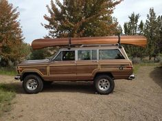 So jealous!  I want one of these so bad.  I would have a kayak on the top.