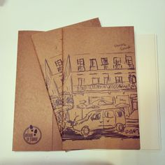 Antoine le Flâneur sketchbooks sold at lab::istanbul designshop, karaköy...