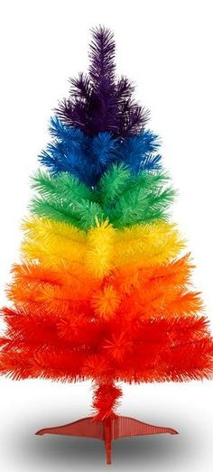 Rainbow Artificial Christmas Tree                                                                                                                                                      More