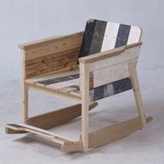 Piet Hein Eek rocking chair #kid