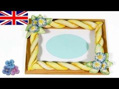 How to make Picture Frames with Modeling Clay *DIY Gifts* Air Dry Clay DIY Crafts Mathie - YouTube