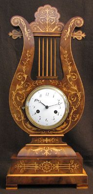 very early French clock