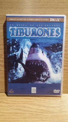 EN BUSCA DE LOS GRANDES TIBURONES. PRODUCCIONES JRB / DVD - CALIDAD LUJO