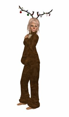 Costume women reindeer costume for women reindeer outfit amp nose