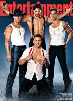 Channing Tatum Covers 'Entertainment Weekly' with 'Magic Mike' Cast: Photo Channing Tatum, Matthew McConaughey, Matt Bomer, and Joe Manganiello do a little striptease for the latest cover of Entertainment Weekly. The heartthrobs, who… Magic Mike Channing Tatum, Don Jon, Entertainment Weekly, Matt Bomer, Gorgeous Men, Beautiful People, Pretty People, Coach Carter, Public Enemies