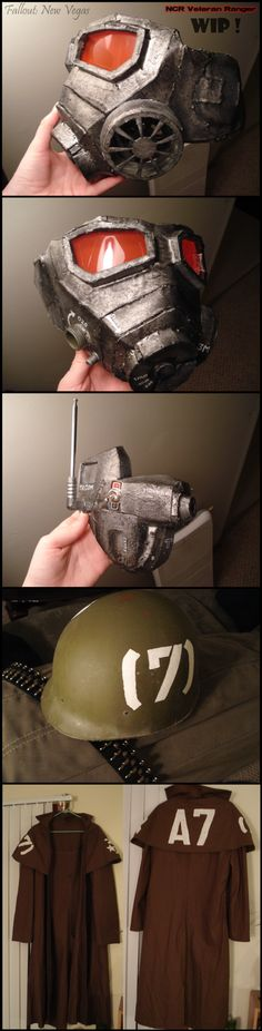 Fallout NCR Ranger Cosplay WIP by Allyson-x.deviantart.com on @deviantART