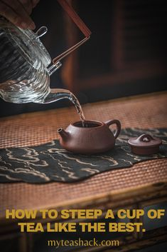For tea lovers making a great cup of tea is considered an art, and not doing it the right way would make a difference between a great cup of tea and the opposite. The primary purposeof steeping is to soak the tea with the water to extract flavor, and the best oftea leaves to the max.